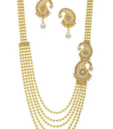 Buy Beautiful Kundun Designed Fashionable Necklace Set eid-jewellery online