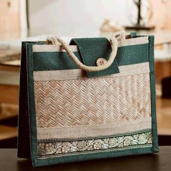 Ethnik Handcrafted Utility Bag of Recycled Jute