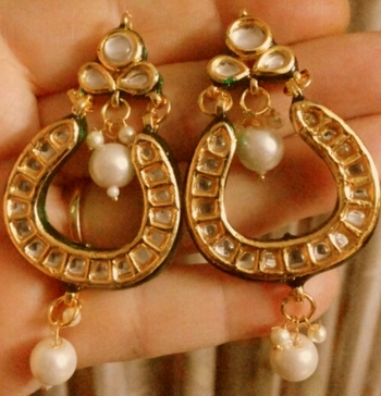 Kundan Royal Gold Plated Earrings