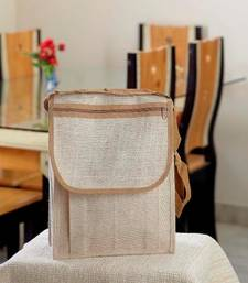 Buy Ethnik Handcrafted Natural Colour Bag Of Recycled Jute_38 handbag online
