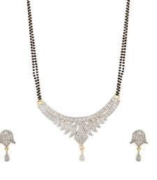 Buy Gold american diamonds mangalsutra mangalsutra online