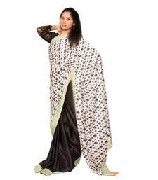 Buy Polo-print Saree satin-saree online