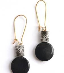 Trendy embellished earrings