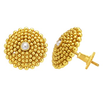 Dazzling Gold Plated Earring For Women