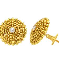 Buy Dazzling Gold Plated Earring For Women diwali-jewellery online