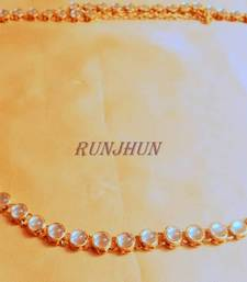 Single Line Kundan Waist Belt