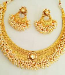 Buy  Kundan Necklace Set - JFL necklace-set online