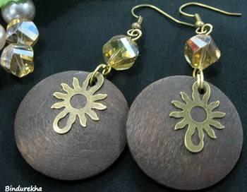 Wooden_Round_Brass_Sun_Earrings