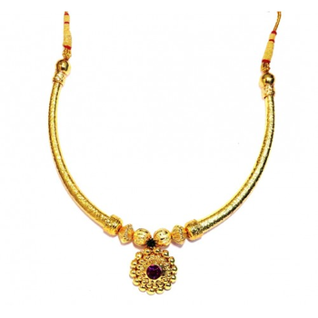 Hasli Necklace traditional Maharashtrian Pipe thushi