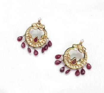 Ruby Nath Earing