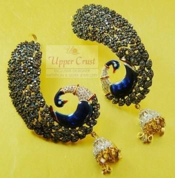 Peacock kanphool Earrings