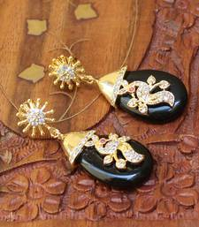 Designer Peacock Earrings danglers-drop