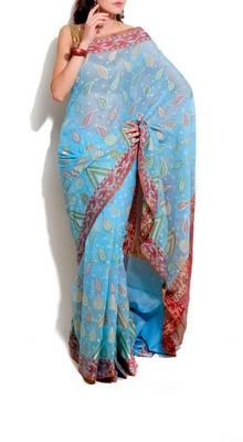 Banarasi Supernet Cotton Fancy Saree