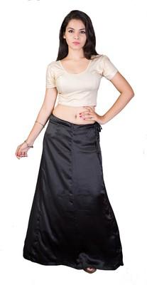 Black satin  petticoat
