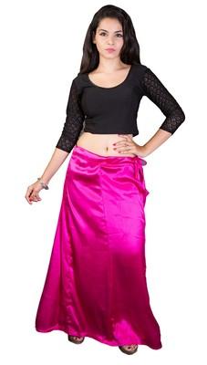 Pink Satin  Petticoat