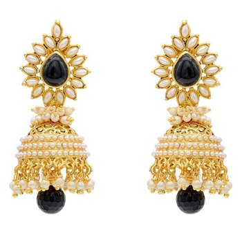 Glamour Pearly Shadowy Glorious Jhumka