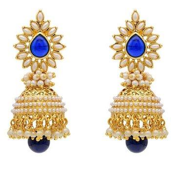 Glamour Pearly Glorious  Royal Jhumka