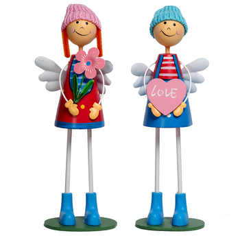 Multicolor Cute And Sweet Pair Of Dolls