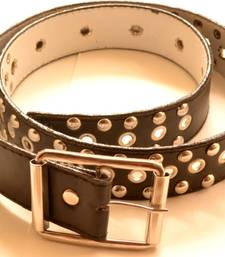 Black leather gifts for her