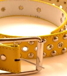 Yellow leather gifts for her