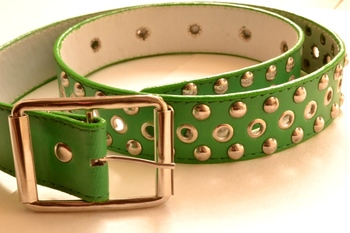 Green leather gifts for her