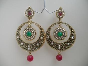 ethnic partywear earrings