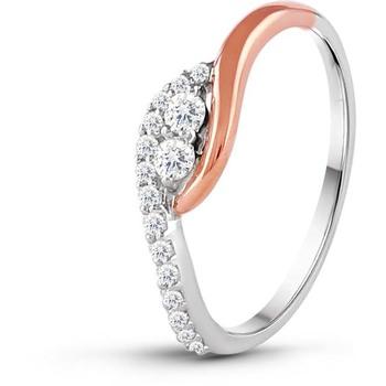 Signity Sterling Silver Radhika Ring
