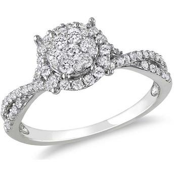 Signity Sterling Silver Deepashri Ring