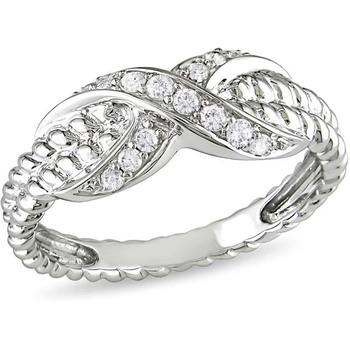Signity Sterling Silver Vaibhavi Ring