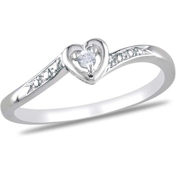Signity Sterling Silver Anjali Ring