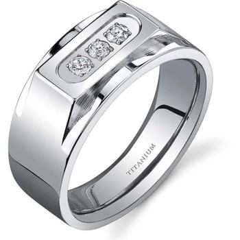 Signity Sterling Silver Patana Ring