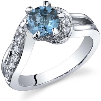 Signity Sterling Silver Poonam Ring