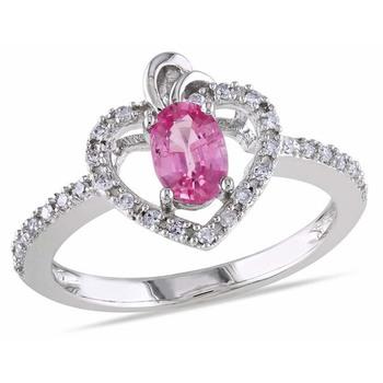 Signity Sterling Silver Siksha Ring