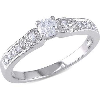 Signity Sterling Silver Sanchita Ring