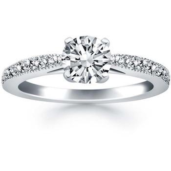 Signity Sterling Silver Chetana Ring