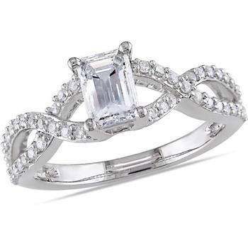 Signity Sterling Silver Karishma Ring