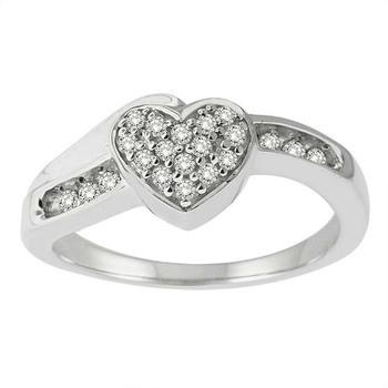 Signity Sterling Silver Vardha Ring
