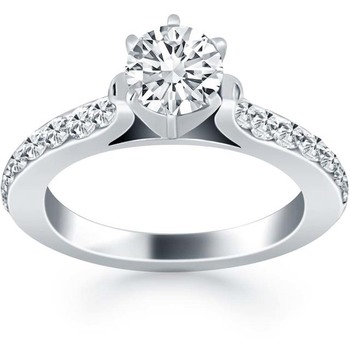 Signity Sterling Silver Vinita Ring