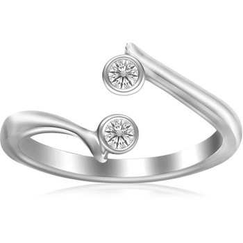 Signity Sterling Silver Shreya Ring