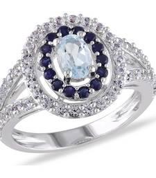 Signity Sterling Silver Madhavi Ring