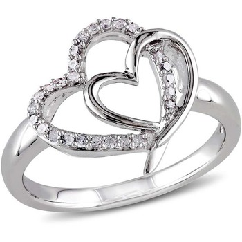Signity Sterling Silver Vidhya Ring