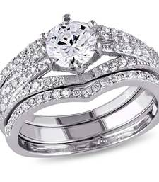 Buy Signity sterling silverhi vaidh ring engagement-ring online