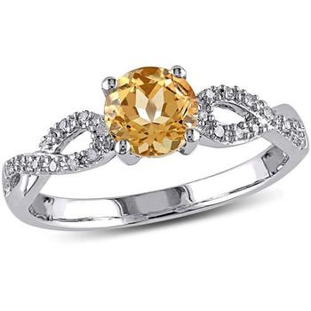 Signity Sterling Silver Sampda Ring