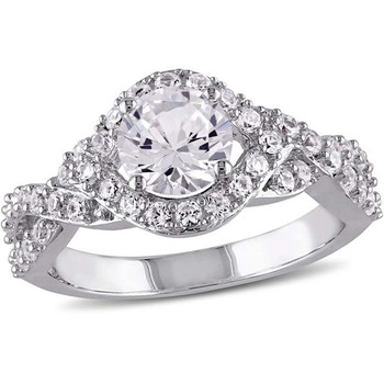 Signity Sterling Silver Avaniti Ring