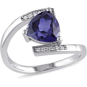 Signity Sterling Silver Kashmira Ring