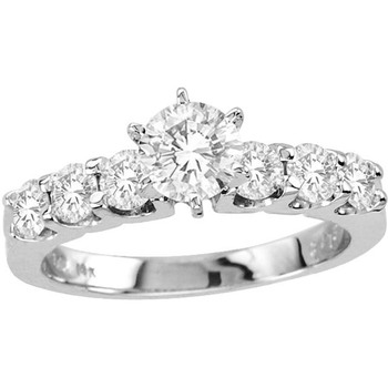 Signity Sterling Silver Snehal Ring