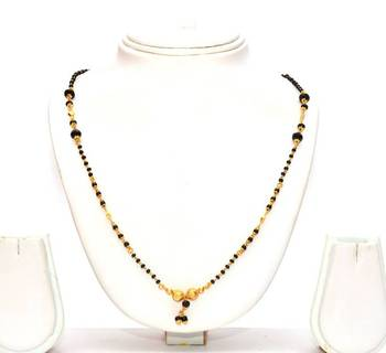 mangalsutra gold indian chain this buy black chains in latest beads grams