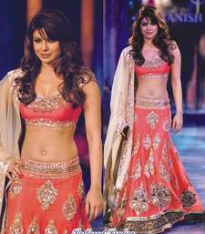 Buy priyanka chopra bollywood desiner lehnga b86f priyanka-chopra-saree online