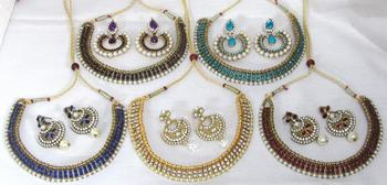 Combo offer of ethenic necklace set