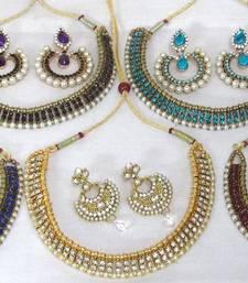 Combo offer of ethenic necklace set